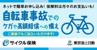 eサイクル保険 自転車事故でのケガや高額賠償への備え
